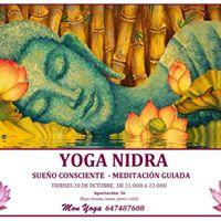 Yoga Nidra. Sueo Consciente y Meditacin guiada en Terrassa.