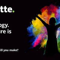 Technology. The future is here  Partecipa al workshop Deloitte