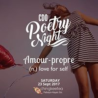 CDO Poetry Night Amour-propre