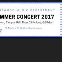 Music department summer concert
