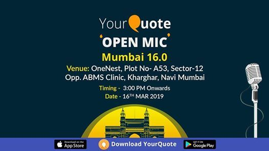 YourQuote Open Mic Mumbai 16.0