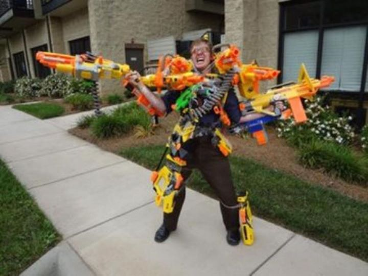 Review Nerf Elite Rough Cut X. Water Pump Action Nerf Gun: Call Of Duty ...
