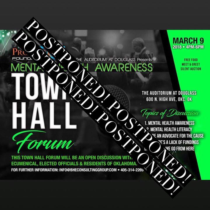 Mental Health Awareness Town Hall Forum