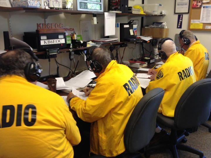 ARRL Amateur Radio License Exam at Benicia Fire Department