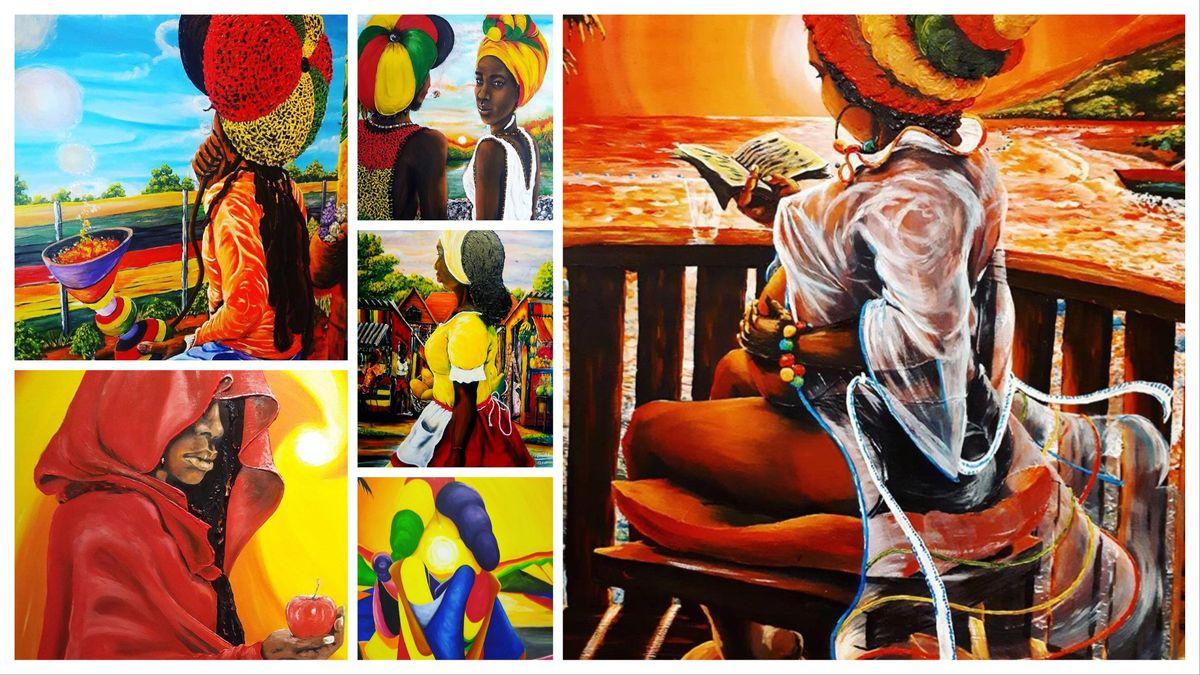 Beauty & Pride Solo exhibition with artist Nasha Bradshaw