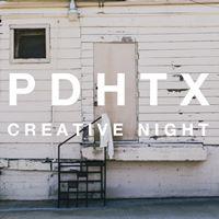PDHTX Creative Night