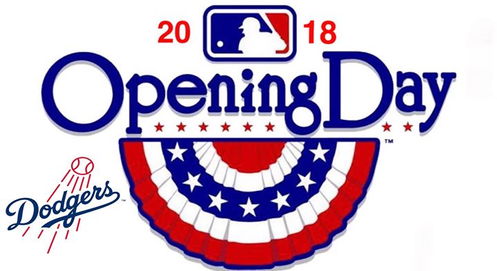 Dodgers Opening Day 2018