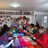 Mandalas txtil em Terespolis