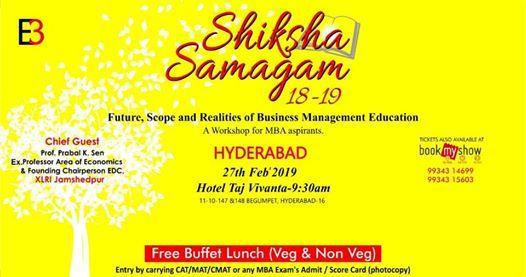 Shiksha Samagam Hyderabad