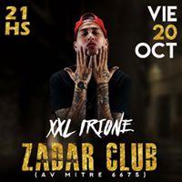 XXL Irione en Zadar Club 20 de Octubre - 21h