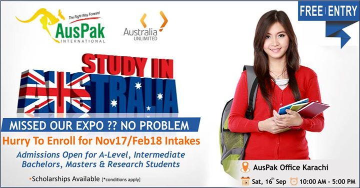 Study In Australia - Admission & Information Session