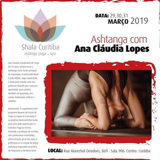 Ashtanga Com Ana Cludia Lopes