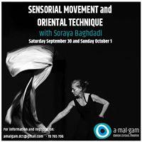 Sensorial Movement and Oriental Technique with Soraya Baghdadi