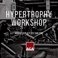 Two Day Hypertrophy Workshop
