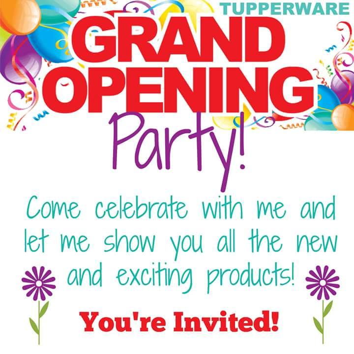 Sherris Grand Opening Tupperware Party at 220 Woodlawn St, Vidor, TX ...
