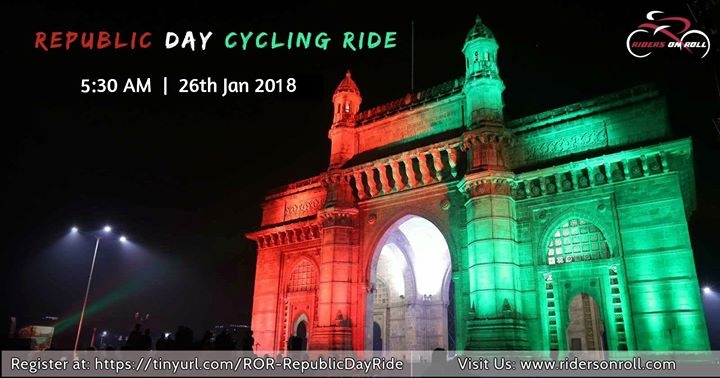 Republic Day Cycling Ride - Riders On Roll