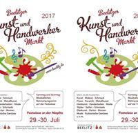 6. Beelitzer Kunst- und Handwerkermarkt