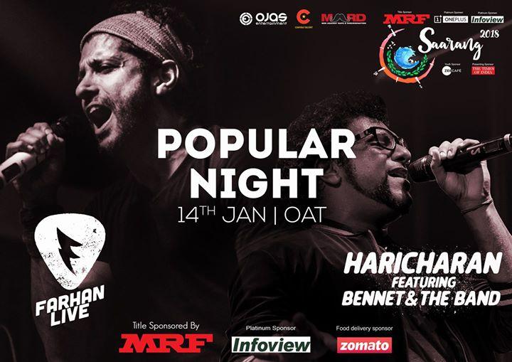 Popular Night Saarang IIT Madras
