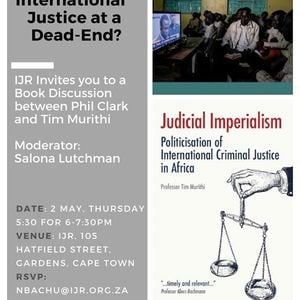 Book Discussion International Justice at a Dead-End