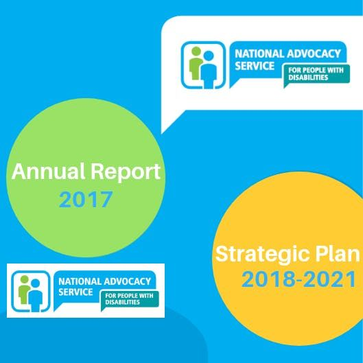 National Advocacy Service Annual Report 17 and Strategic Plan 18-21 Launch