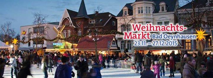 Bad Oeynhausen Weihnachtsmarkt.Weihnachtsmarkt Bad Oeynhausen Bad Oeynhausen