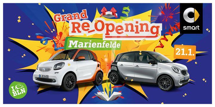 Grand Re-Opening smart center Marienfelde