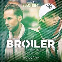 Broiler - Enter p Trdgrn - Lrdag 2 December