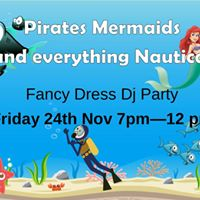 Pirates Mermaids and Underwater Party