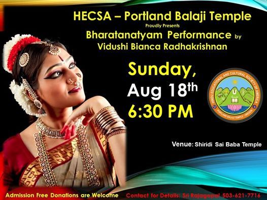 INDIA BHARATANATYAM DANCE COMPETITION events in the City  Top
