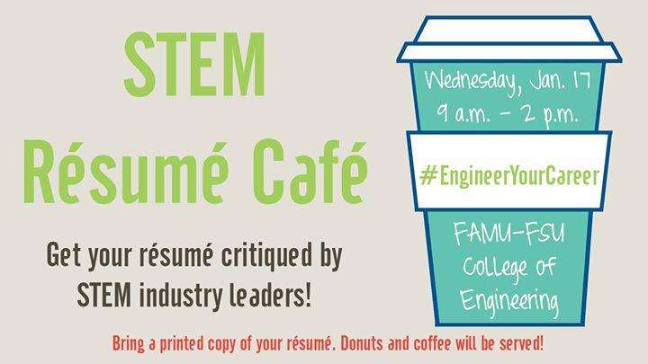 STEM Résumé Café at FAMU FSU College of Engineering, Tallahassee