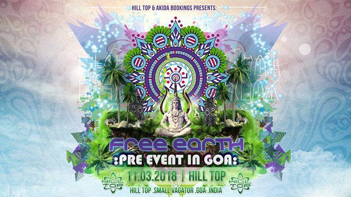 Free Earth Greece Pre Event in Hilltop Goa