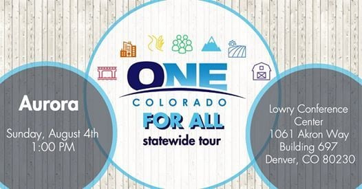 2019 One Colorado For All Statewide Tour - Aurora