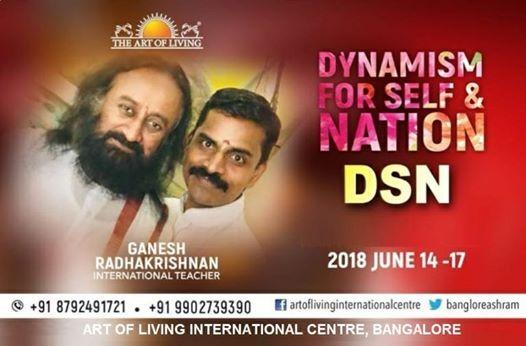 Dynamism for Self & Nation  Bangalore Ashram