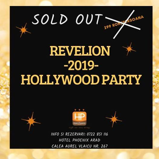 Revelion 2019 -Hollywood Party
