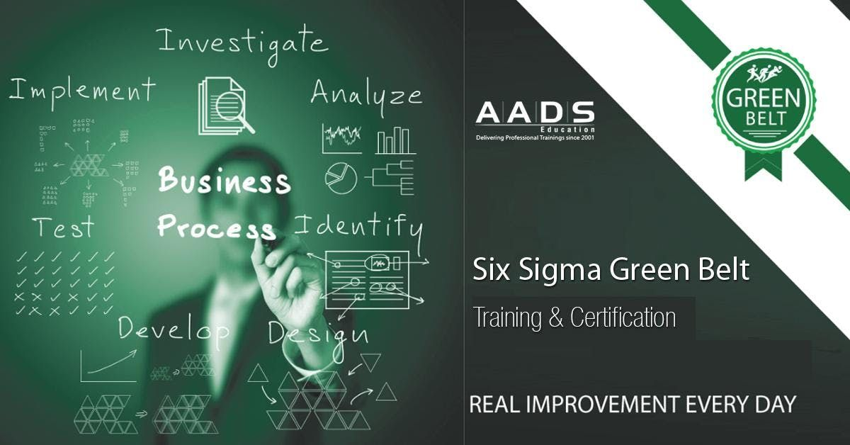 Six Sigma Green Belt Training In Hyderabad Limited Seats Available