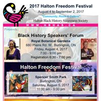 2017 Halton Freedom Festival Speakers Forum
