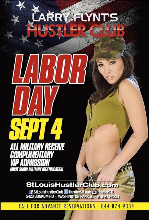 Labor Day At Hustler Club