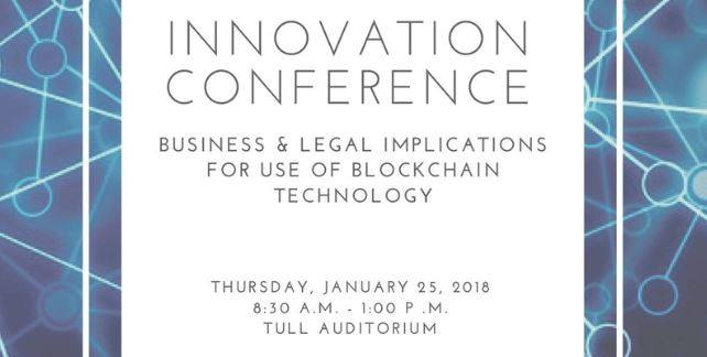 Innovation Conference Future of Blockchain