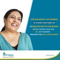 Weight Loss Seminar with Dr. Jayshree Todkar