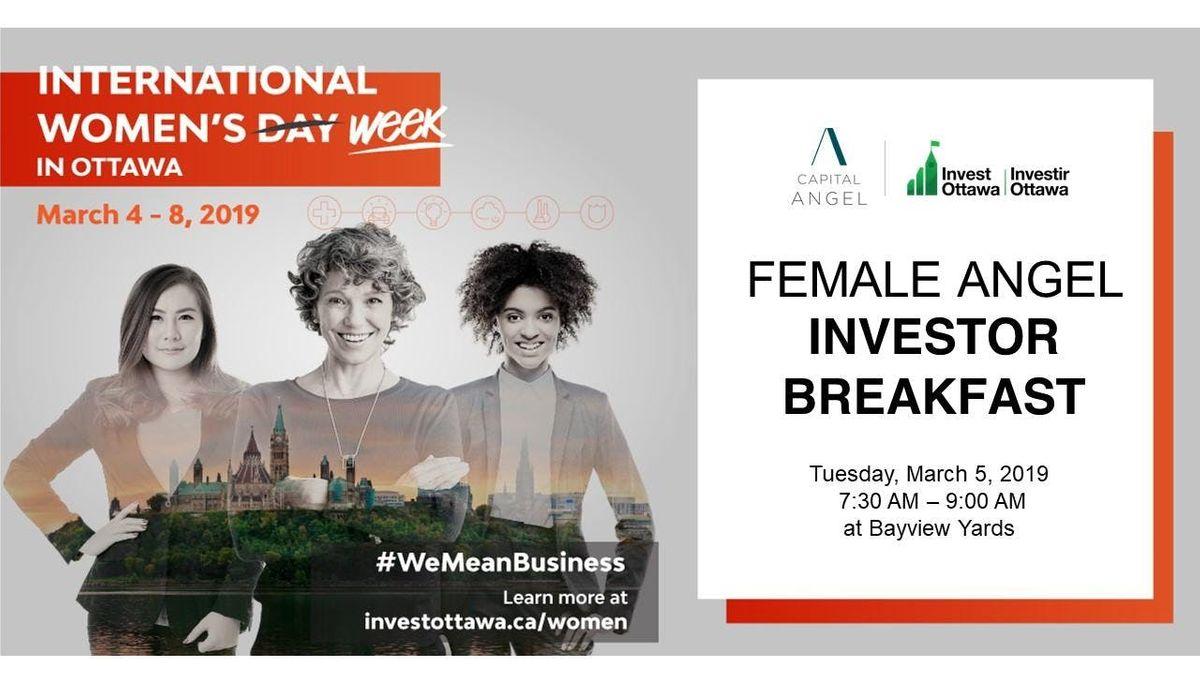 Female Angel Investor Breakfast