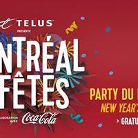Party du Nouvel An Montral en Ftes  New Years Eve Party