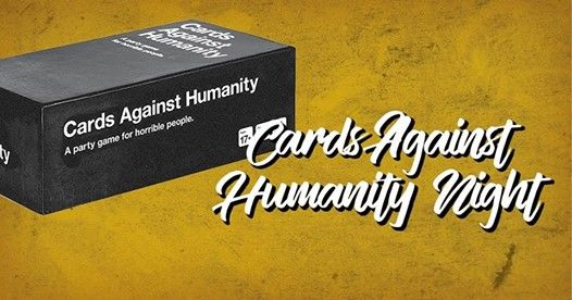 Cards Against Humanity Night