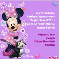 Its FUN to be &quotONE&quot Minnie Mouse Party