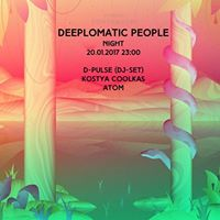 Deeplomatic People Night  D-Pulse Djs
