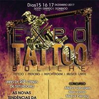 Expo Tattoo Boliche 1 edio  de 25 Estandes  Miss tattoo