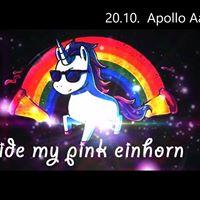 Ride my pink Einhorn