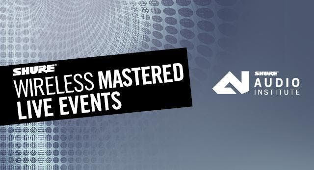 Wireless Mastered - Live Events at AvCom