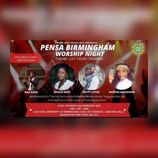 PENSA Birmingham Worship Night  Lay Your Crowns