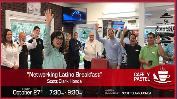 LACCC Cafe Y Pastel Networking Latino Breakfast