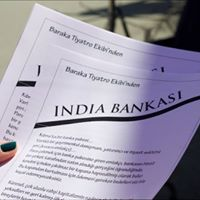 Baraka Tiyatro Ekibinden india Bankasi